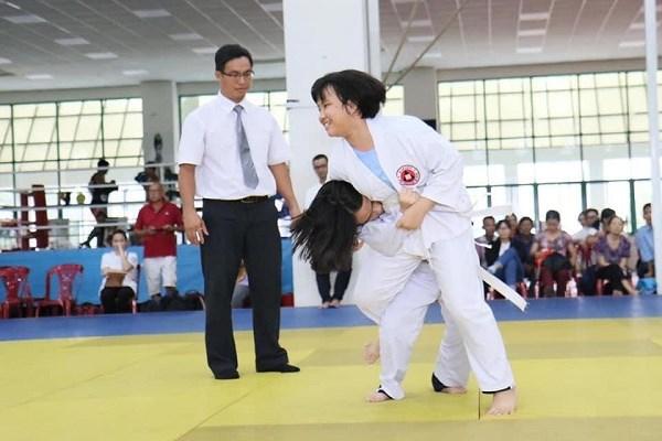 Môn Judo dành cho người khuyết tậtdự kiến diễn ra từngày 26 - 29/11 tới