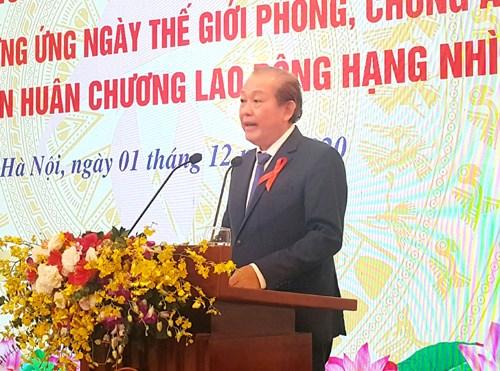 Ủy viên Bộ Chính trị, Phó Thủ tướng Thường trực Trương Hòa Bình chỉ đạo tại hội nghị. Ảnh: VGP