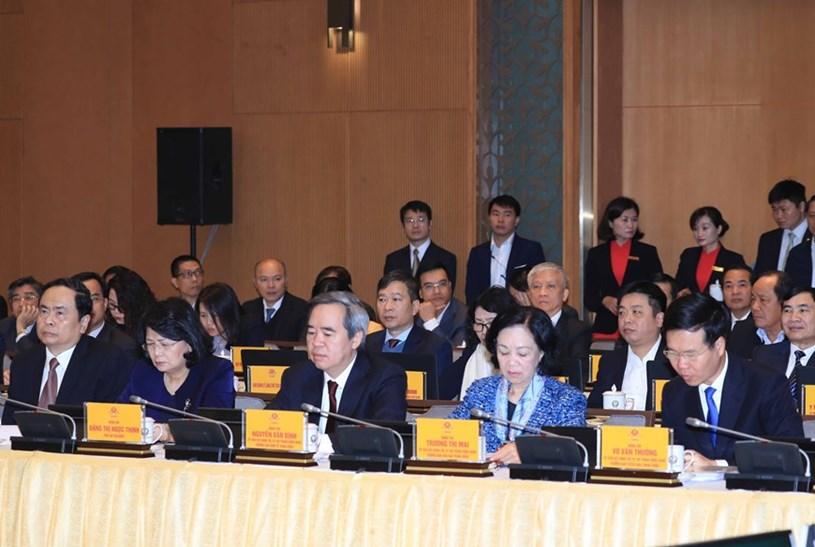 Các đại biểu tham dự hội nghị. Ảnh:Thống Nhất/TTXVN