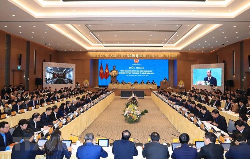 Thủ tướng Nguyễn Xuân Phúc phát biểu khai mạc/ Ảnh:Thống Nhất/TTXVN