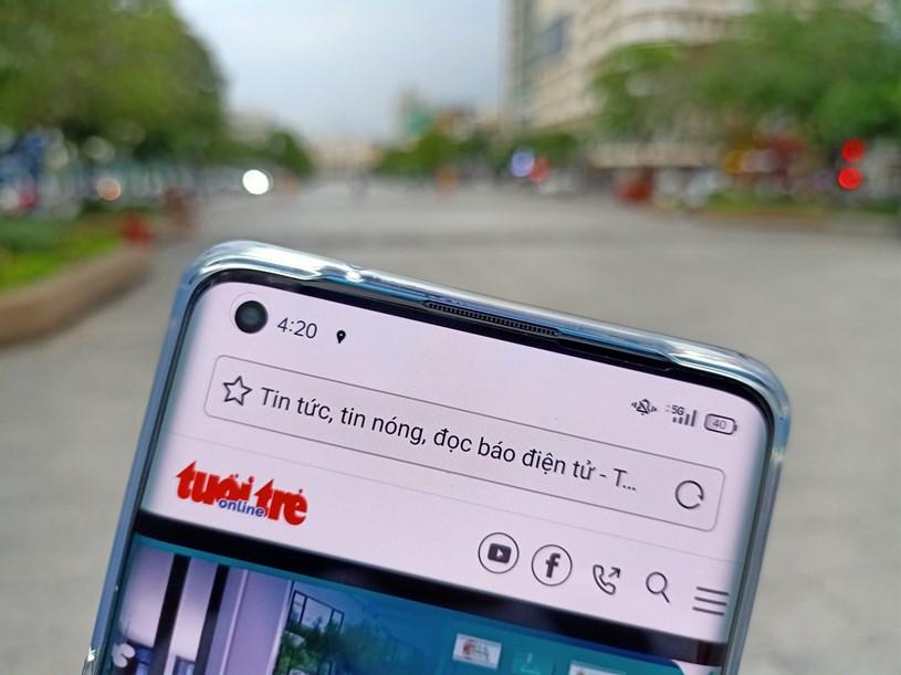 Phố đi bộ Nguyễn Huệ, TPHCM đã có sóng 5G. Ảnh: Đức Thiện/báo Tuổi trẻ