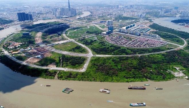 Khu đô thị mới Thủ Thiêm sẽ là Trung tâm tài chính của TP Thủ Đức. Ảnh: Quỳnh Danh/Zingnews